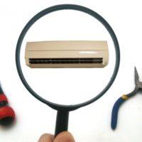 エアコン故障の調査