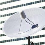 BSアンテナ。昨今地上波に加えてCS/BSアンテナの設置件数も増えている。