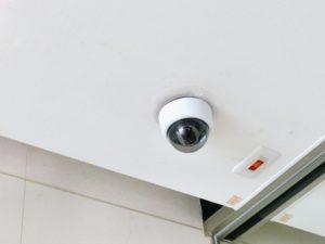 防犯カメラドーム型